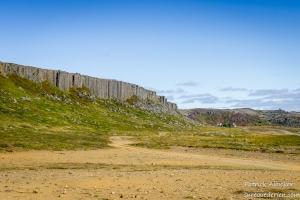 Gerduberg basalt cliffs